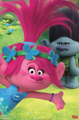 Trolls - Fun Movie Poster 22x34 RP14822 UPC882663048229