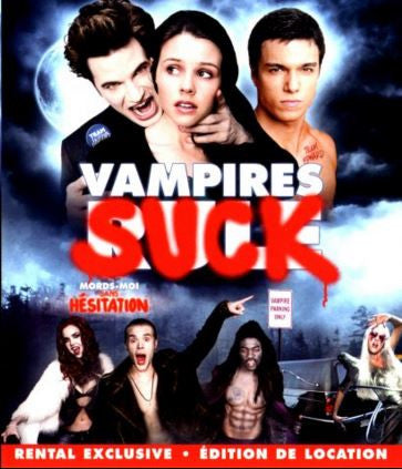 Vampires Suck Movie DVD Used 2010 UPC024543718291