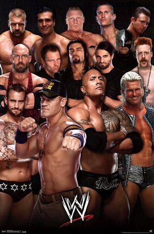 WWE - Group 13 Sports Poster 22x34 RP2251 UPC017681022511