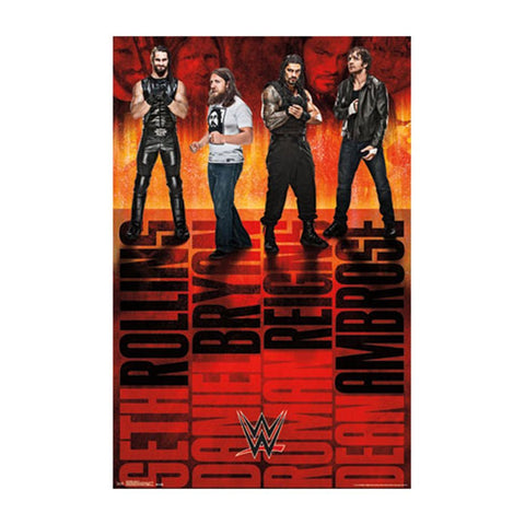 WWE - Group 15 Sports Poster RP13123 UPC88266303123 22x34