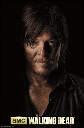 The Walking Dead - Daryl Shadow TV Show Poster 22x34 RP13587 UPC882663035878