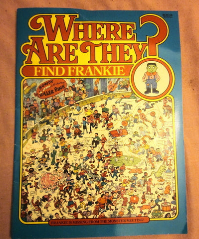 Where Are They? Find Frankie by Anthony Tallarico (1990, Paperback) ISBN-10 0942025768