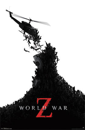 World War Z – One Sheet Movie Poster 22x34 RP2116  UPC017681021163