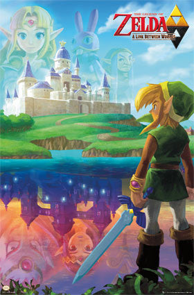Zelda – A Link Between Worlds Game Poster 22x34 RP10031  UPC882663000319