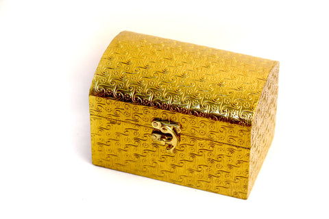 Aakashi Antique Golden Box - Nakashi International LLC