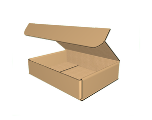 "9-1/2"" x 7"" x 2"" - Die Cut Corrugated Box, Single Wall"