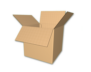 "12"" x 12"" x 12"" - RSC Corrugated Boxes, Single Wall"