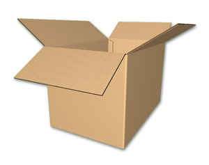 "18"" x 12"" x 12"" - RSC Corrugated Boxes, Single Wall"