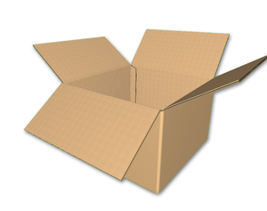 "18"" x 18"" x 12"" - RSC Corrugated Box, Double Wall"