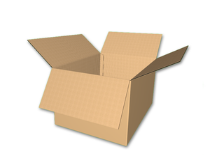 "24"" x 18"" x 14"" - Heavy Duty RSC Corrugated Box, Single Wall"