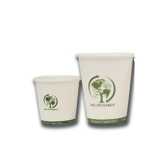 Bio-Sposables™ Hot Cup - Small (4oz/8oz)