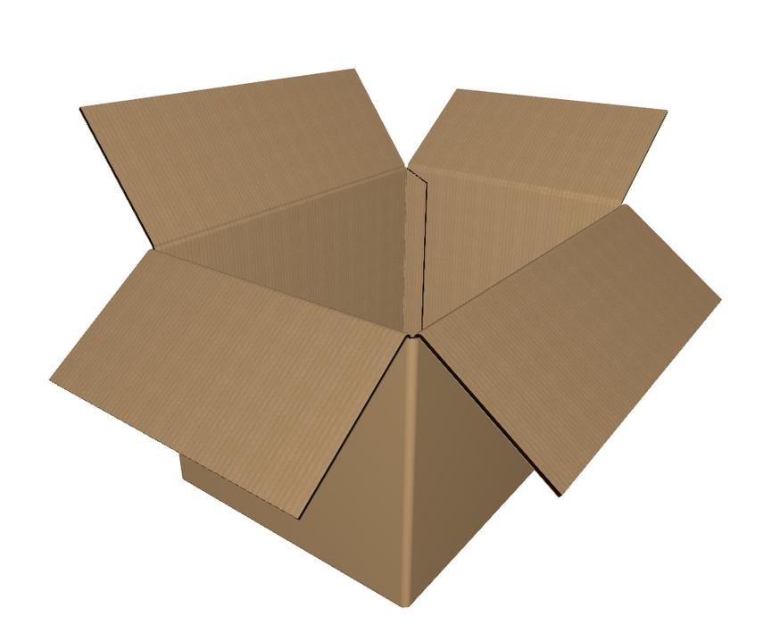 "C-141009 - 14"" x 10"" x 9"" - RSC Corrugated Boxes, Single Wall"