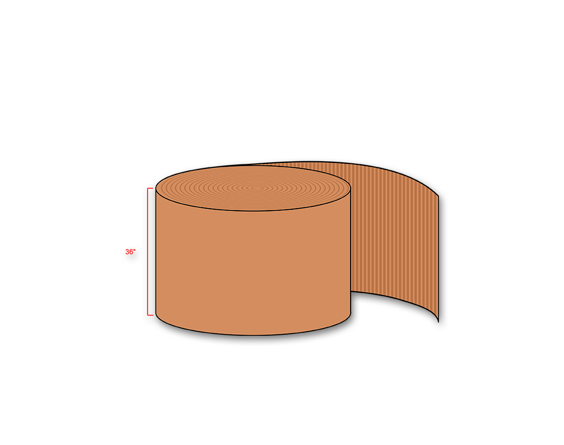 Single Face Corrugated Roll Wolfpack Ca