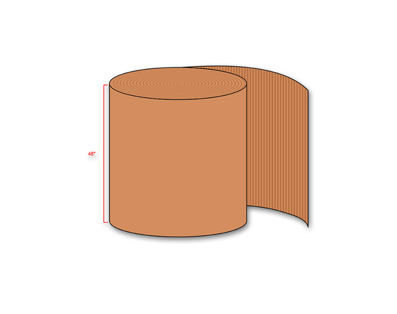 Single Face Corrugated Roll