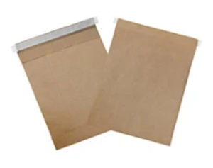 Padded (Not Bubble) Recyclable Mailers - BROWN