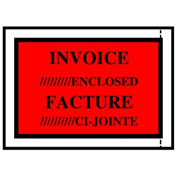 Invoice Enclosed Envelopes, 4-1/2