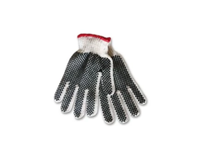 Poly Knit Glove, Dots 2 Sides