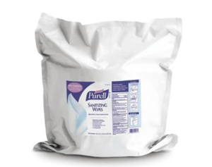 Purell Sanitizing Wipes - 1500 x 2 / Case