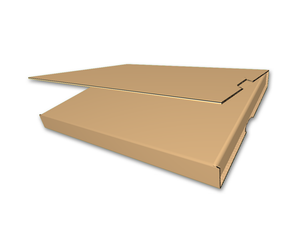 "12-1/2"" x 12-1/2"" x 1/2"" - Die Cut Corrugated Box, Single Wall"