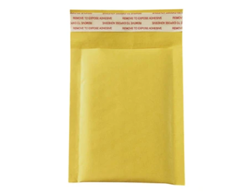 Padded (Not Bubble) Recyclable Mailers - YELLOW