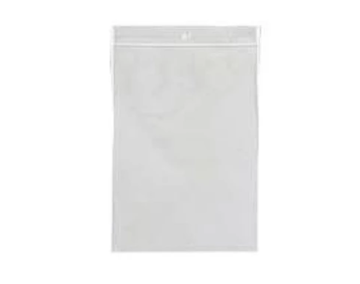 Zip Lock Poly Bags, Clear, Heavy-Duty