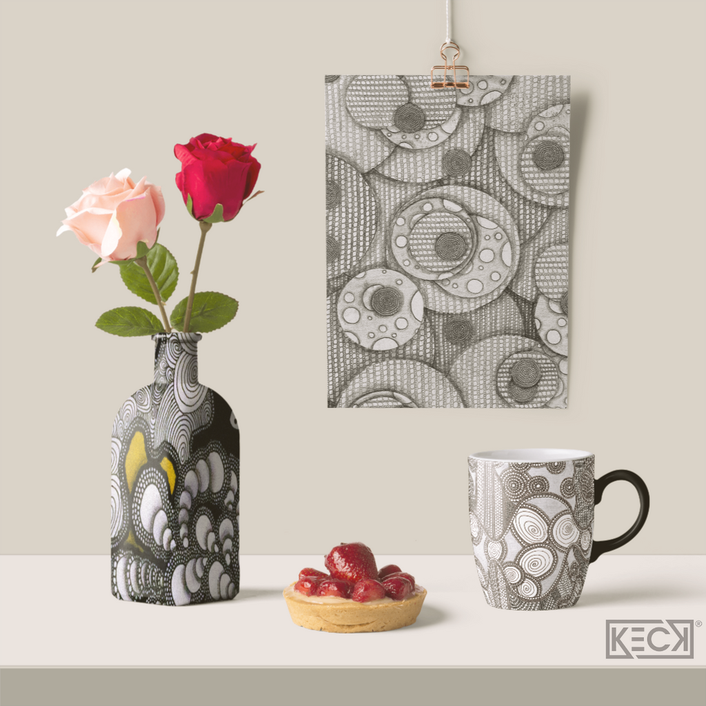 Keck® Art Licensing on Home Decor Products
