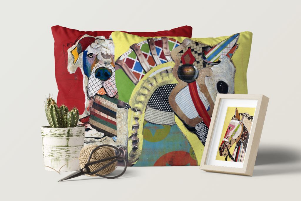 Keck® Art Licensing:  Keck Dog & Animal Art on Home Decor Products