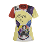 Boston Terrier Dog T-Shirts for Women