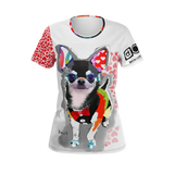 Dog T-Shirts I LOVE My Chihuahua tshirt for women