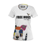 Dog T-Shirts | Free Hugs for dogs tshirt