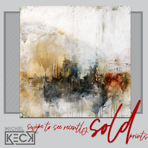 ABSTRACT ART PRINTS - fine art giclee print best selling abstract art prints of Michel Keck