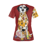 I LOVE MY DALMATION Dog T-Shirts for women