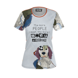 DOG T-SHIRTS The More People I Meet The More I Love My Dog Tee
