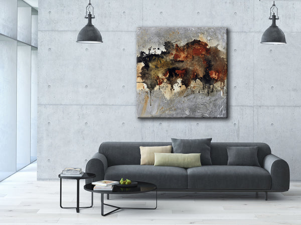 #010822 <br> Darkest Hour <br> Canvas Art Print