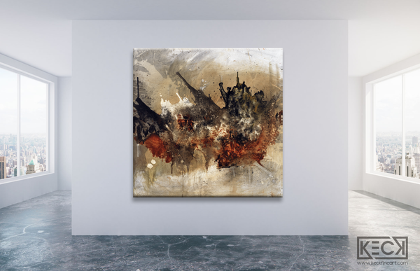 Oversized, Large Abstract Art for Huge Spaces