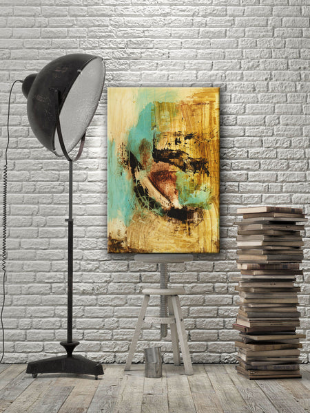 ABSTRACT ART Canvas Print of Up For Anything