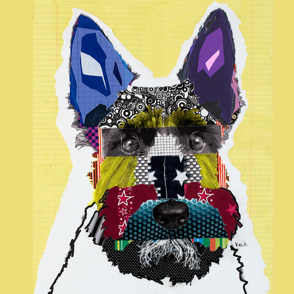 Scottish Terrier Dog Art Prints by Michel Keck