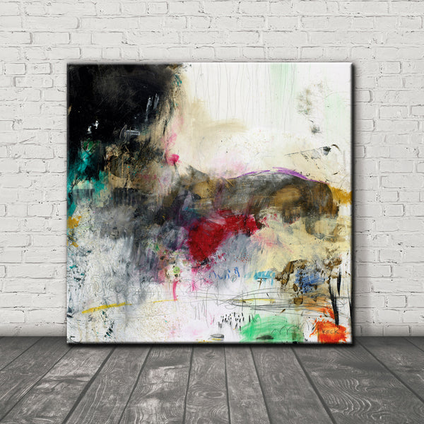 #021011 <br> Hard Telling II <br> Canvas Art Print