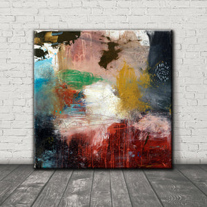 #021013 <br> Hard Telling III <br> Canvas Art Print