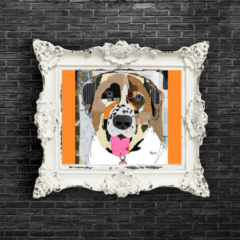 Dog Art of Anatolian Shepherd I on Paper Print