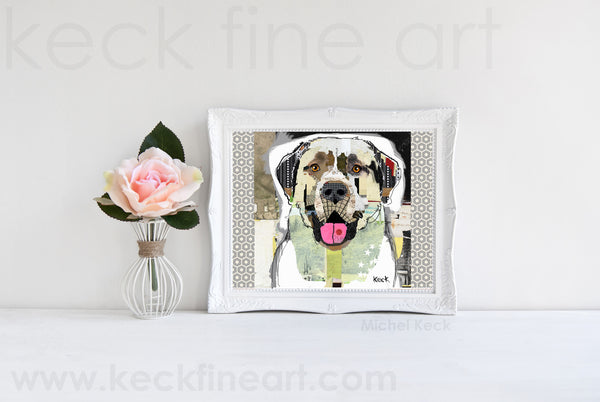 Dog Art of Anatolian Shepherd II on Paper Print