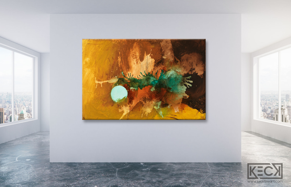 HUGE ABSTRACT ART PRINTS: Largest selection of oversized, abstract art prints on canvas.