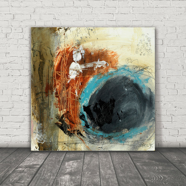 #031004 <br>  Hung the Moon <br> Canvas Art Print