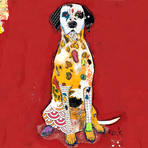 Dalmation Dog Art.  Buy dalmation dog art prints on canvas or paper