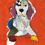 BEAGLE ART | Beagle Art Paintings | Beagle Art Prints | small to OVERSIZED canvas prints of beagle dogs.