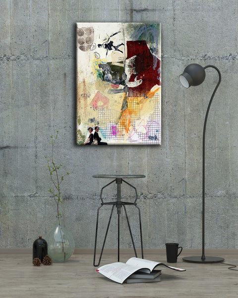 #031306 <br> Balancing Act <br> Canvas Art Print