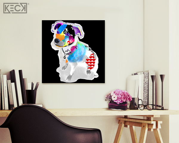 #031701 <br> Pit Bull III <br> Canvas Art Print