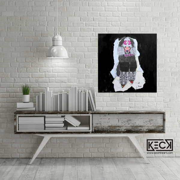 031805<br> Poodle II <br> Canvas Art Print