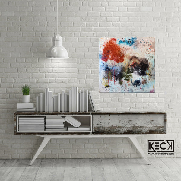 #032002 <br> Eight (III) <br> Canvas Art Print