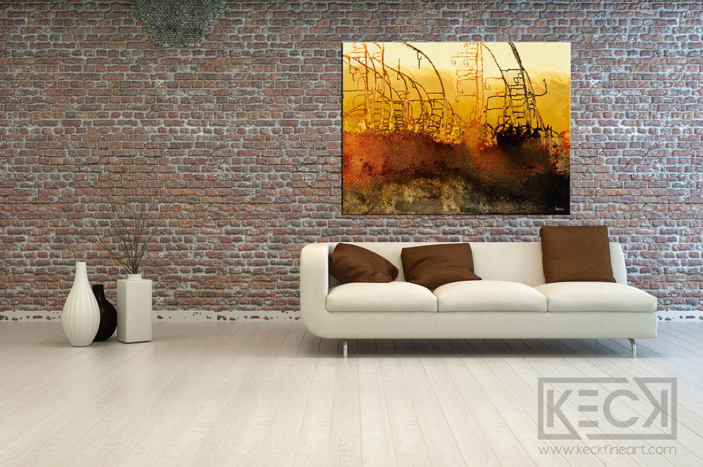 Load image into Gallery viewer, #040616 Gridlock Series <br> Canvas Art Print